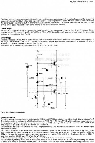 Quad 303 - Page 2 - UK Vintage Radio Repair and Restoration