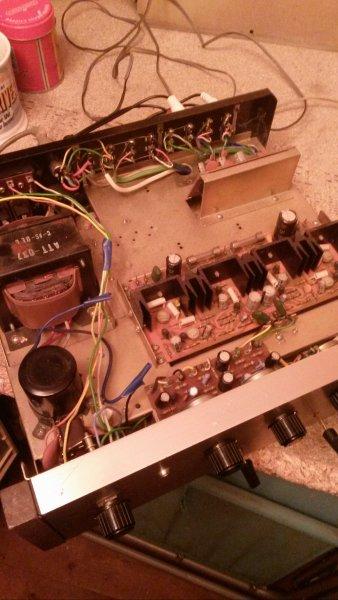 Pioneer SA-500A amplifier - UK Vintage Radio Repair and