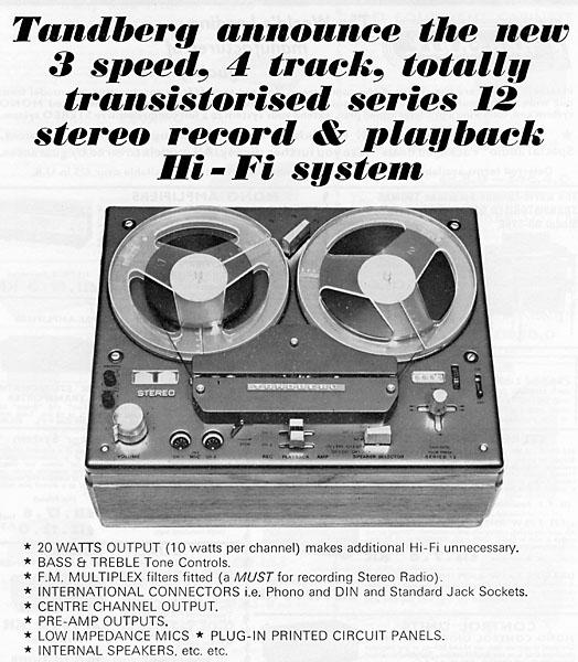 New tape recorder Tandberg - UK Vintage Radio Repair and