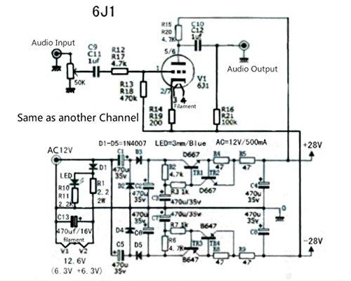 6J1 Valve Preamplifier - UK Vintage Radio Repair and Restoration
