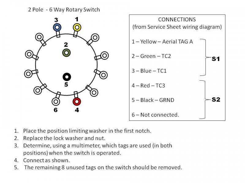 Dac90a Wavechange Switch Uk Vintage Radio Repair And Restoration Discussion Forum