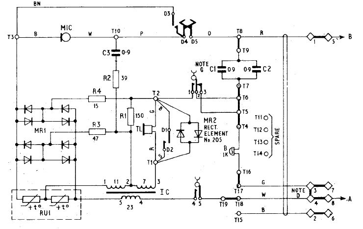 Candlestick Telephone Wiring Diagram : Western electric candlestick phone diagram