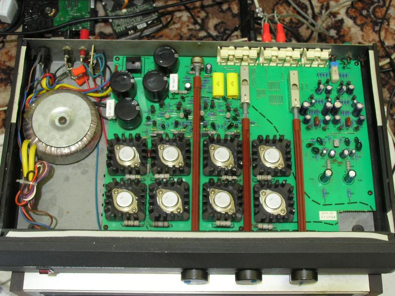 Possible design issue in early MF B1 amp? - diyAudio