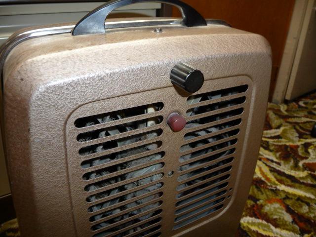 HMV Salisbury fan heater UK Vintage