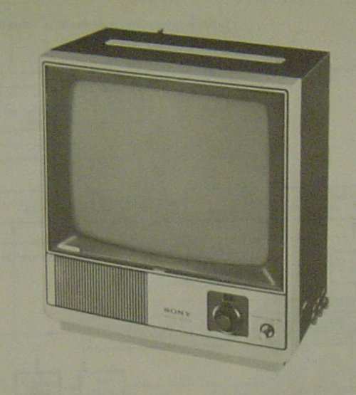 Largest Sony UK monochrome TV? - UK Vintage Radio Repair and