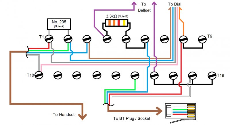 gpo 746 wiring query 2 wire uk vintage radio repair and click image for larger version 706 746 8746 wiring diagram